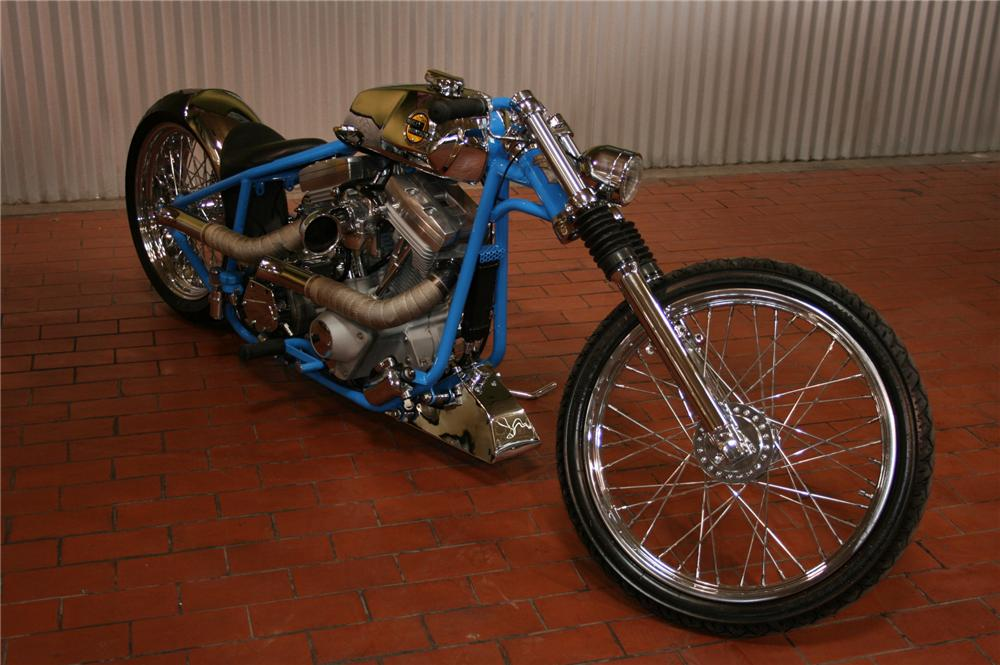 "2007 COLLIERS ""BRUISER"" CUSTOM CYCLE - Front 3/4 - 79603"