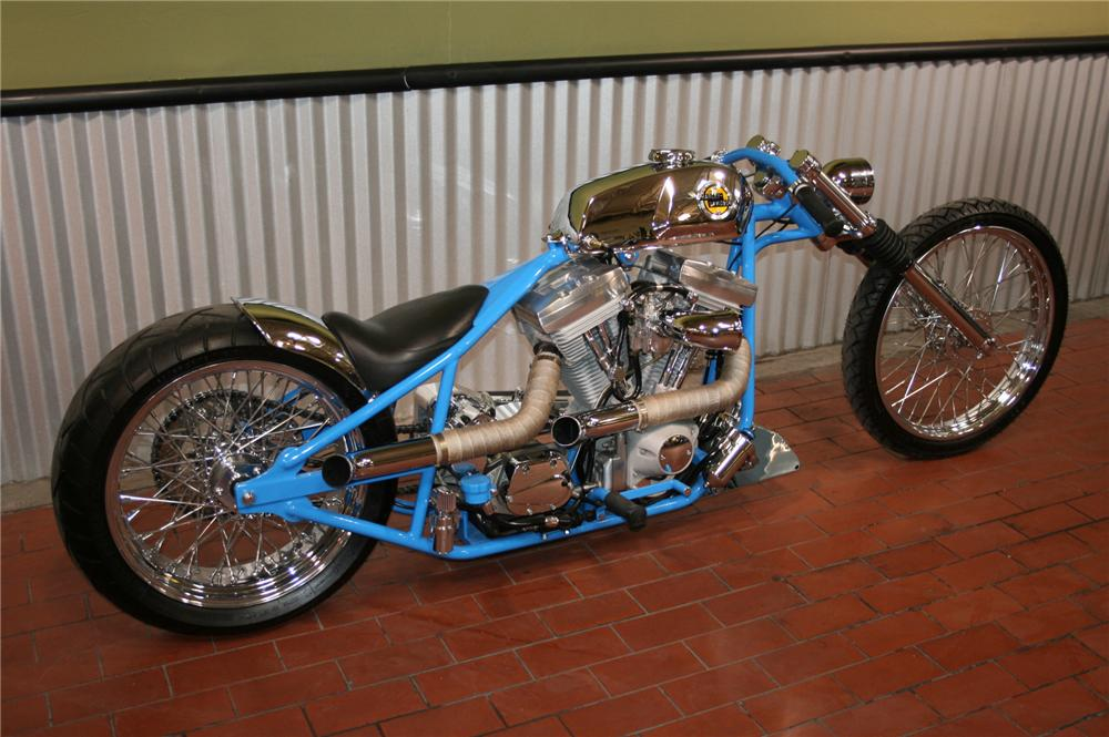 "2007 COLLIERS ""BRUISER"" CUSTOM CYCLE - Rear 3/4 - 79603"