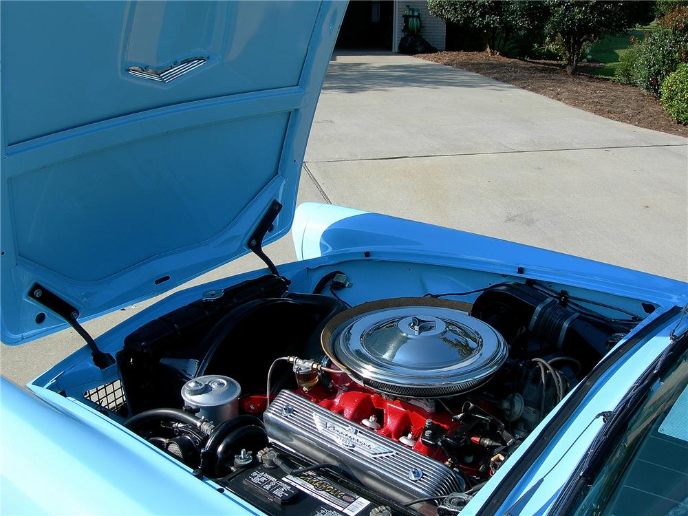 1957 FORD THUNDERBIRD CONVERTIBLE - Engine - 79608