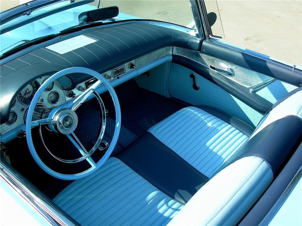 1957 FORD THUNDERBIRD CONVERTIBLE - Interior - 79608