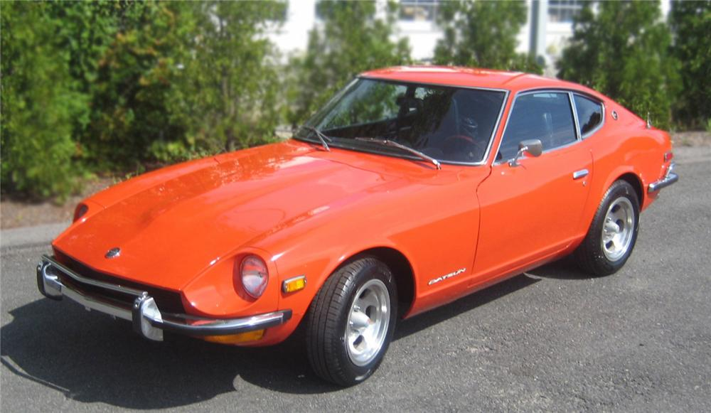 1973 DATSUN 240Z 2 DOOR COUPE - Front 3/4 - 79611