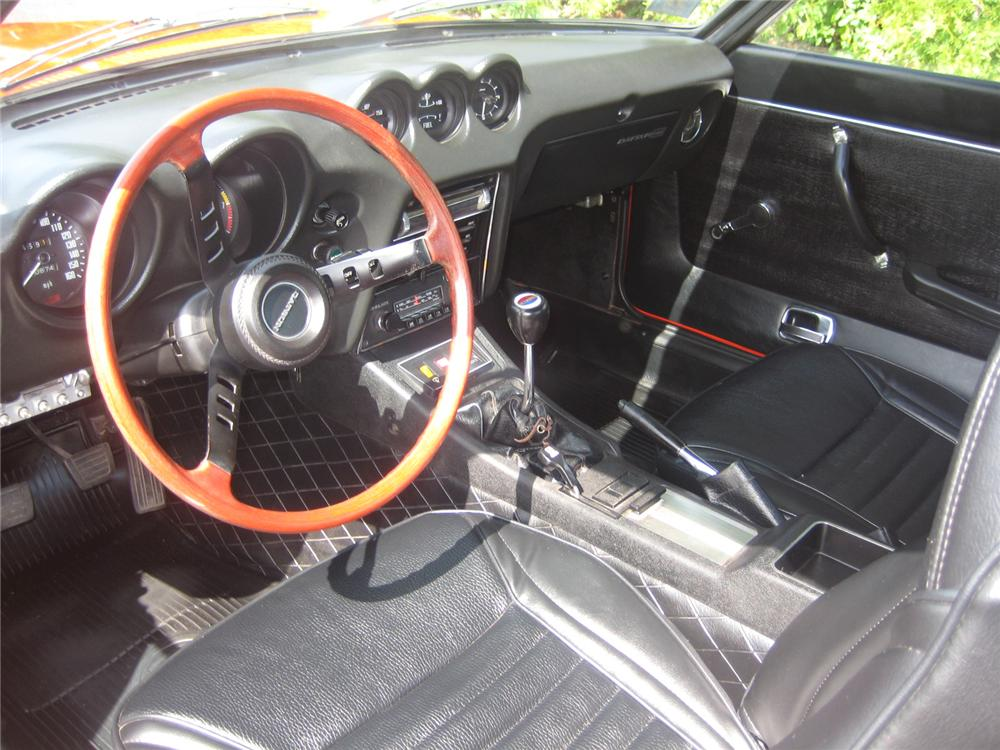 1973 DATSUN 240Z 2 DOOR COUPE - Interior - 79611