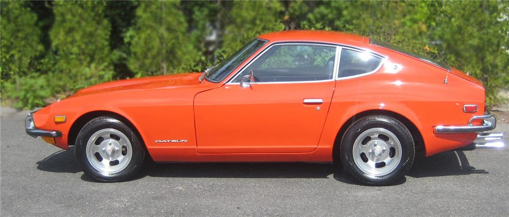 1973 DATSUN 240Z 2 DOOR COUPE - Side Profile - 79611