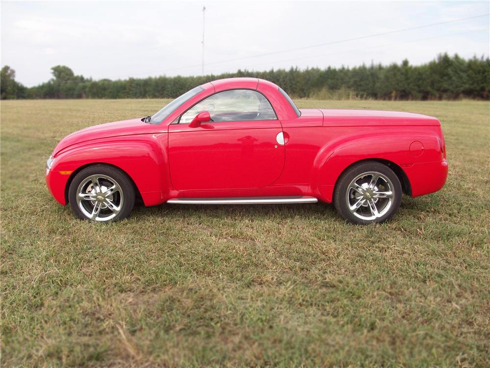 2005 CHEVROLET SSR TRUCK - Side Profile - 79620