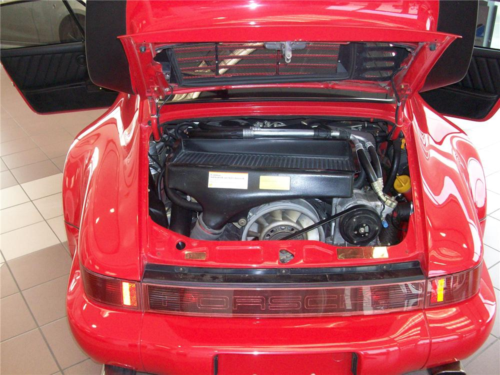 1991 PORSCHE 911 2 DOOR COUPE - Engine - 79621