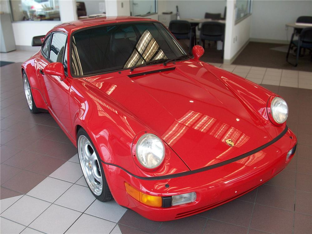 1991 PORSCHE 911 2 DOOR COUPE - Front 3/4 - 79621