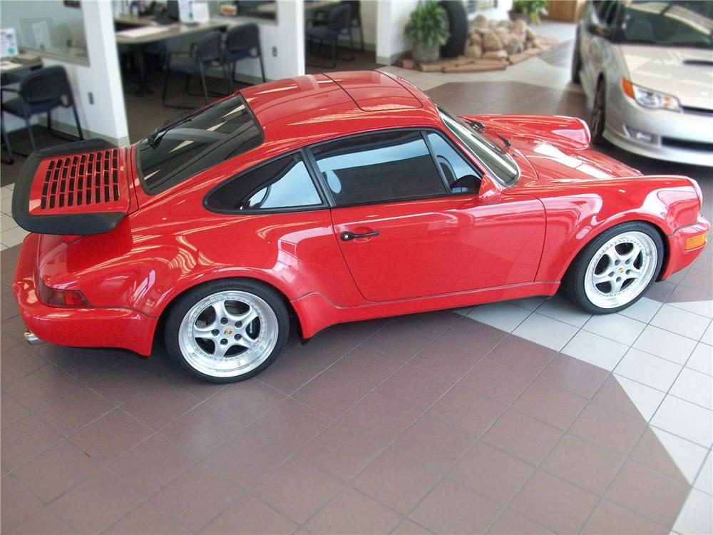 1991 PORSCHE 911 2 DOOR COUPE - Side Profile - 79621