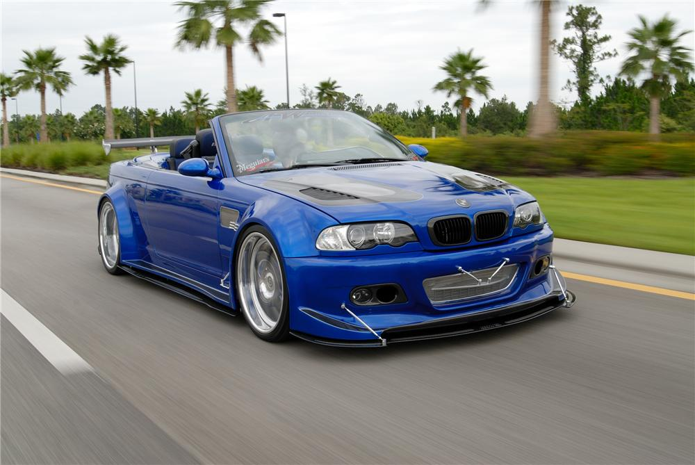 2002 Bmw M3 Custom Convertible 79623