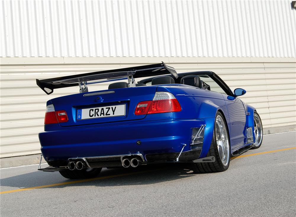 2002 BMW M3 CUSTOM CONVERTIBLE - Rear 3/4 - 79623