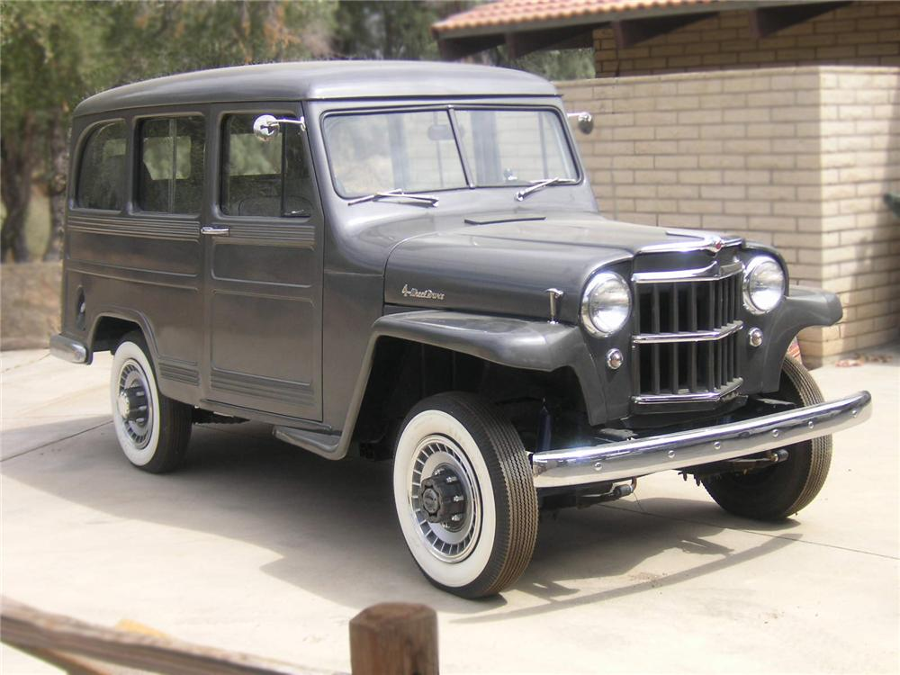 1952 WILLYS WAGON STATION WAGON - Front 3/4 - 79625