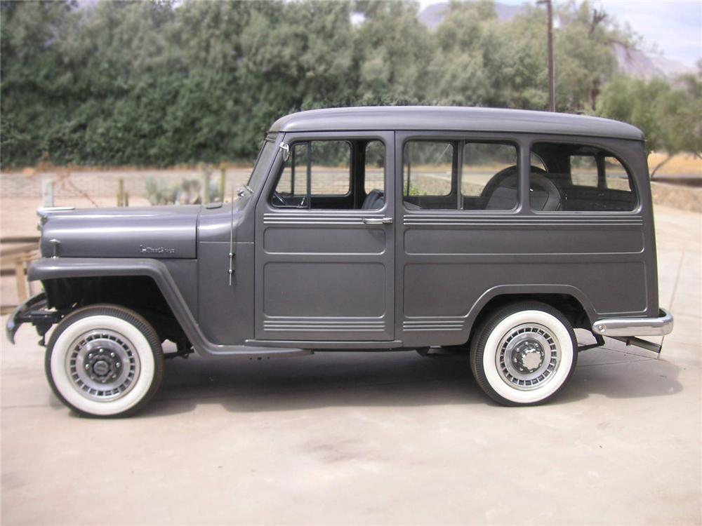 1952 WILLYS WAGON STATION WAGON - Side Profile - 79625