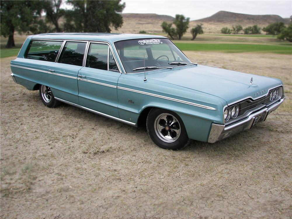 1966 DODGE POLARA STATION WAGON - Front 3/4 - 79644