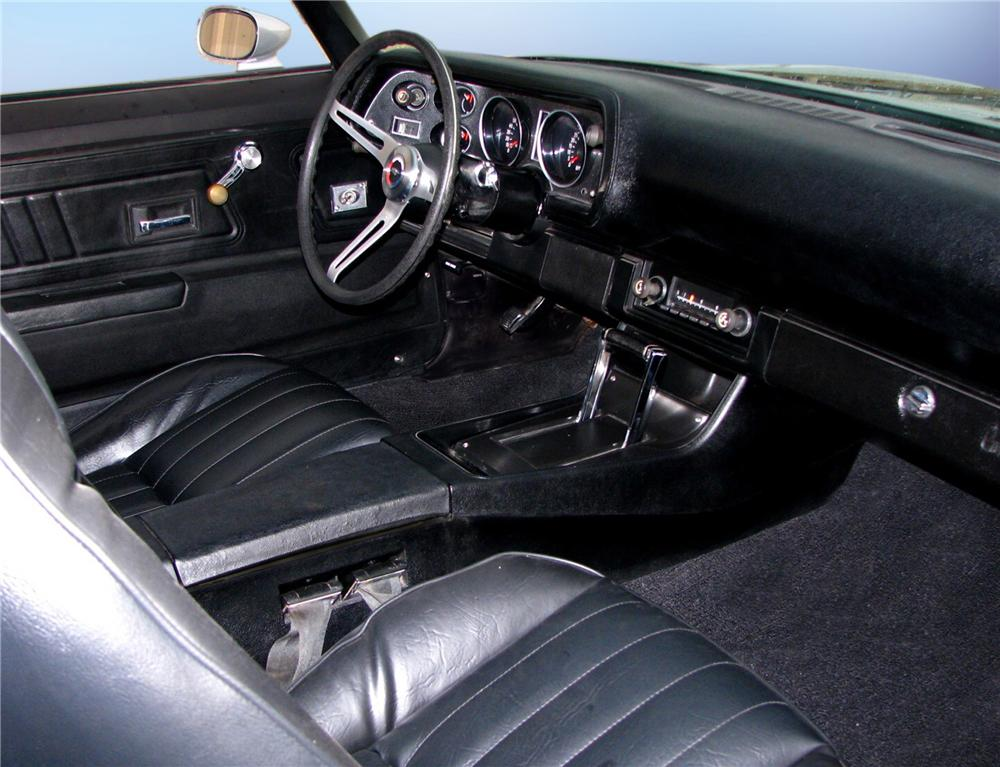 1971 CHEVROLET CAMARO Z/28 RS 2 DOOR HARDTOP - Interior - 79650