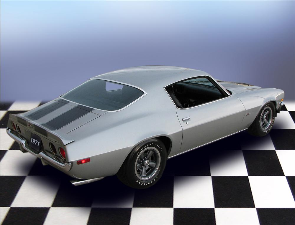 1971 CHEVROLET CAMARO Z/28 RS 2 DOOR HARDTOP - Rear 3/4 - 79650