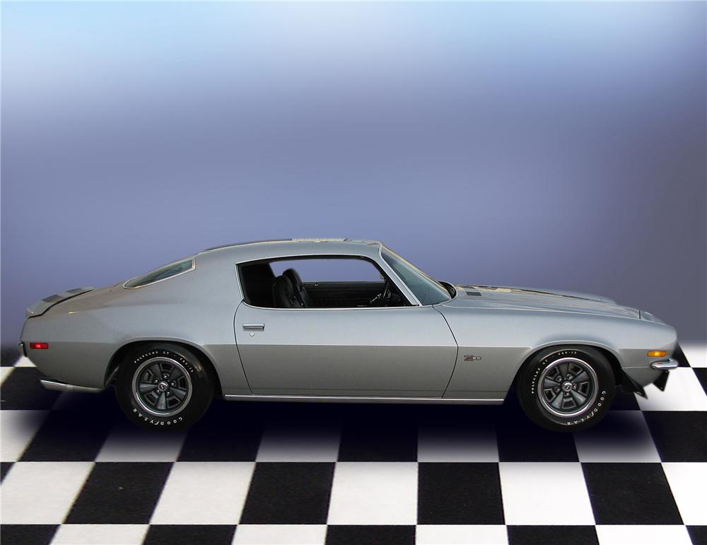 1971 CHEVROLET CAMARO Z/28 RS 2 DOOR HARDTOP - Side Profile - 79650