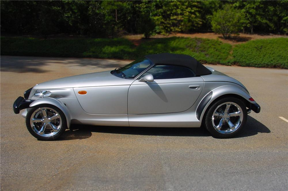 2001 PLYMOUTH PROWLER 2 DOOR CONVERTIBLE - Front 3/4 - 79655