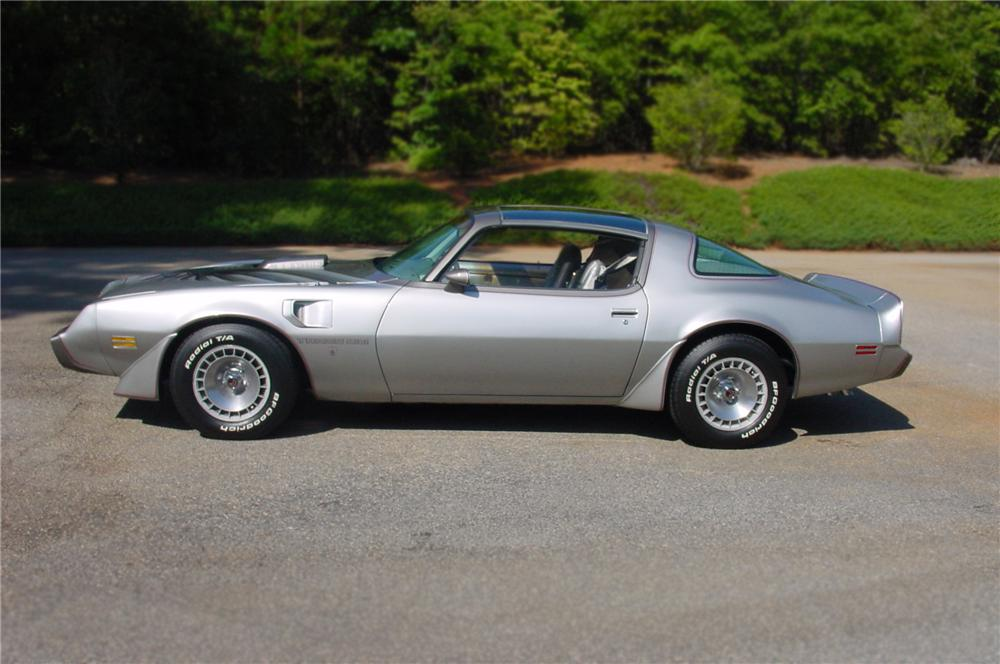 1979 PONTIAC FIREBIRD TRANS AM 10TH ANNIVERSARY COUPE - Side Profile - 79658