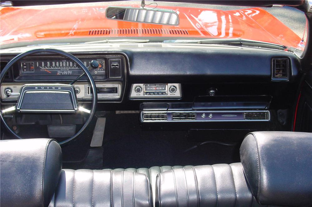 1969 BUICK GS400 2 DOOR CONVERTIBLE - Interior - 79659