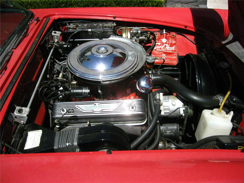 1957 FORD THUNDERBIRD CONVERTIBLE - Engine - 79670
