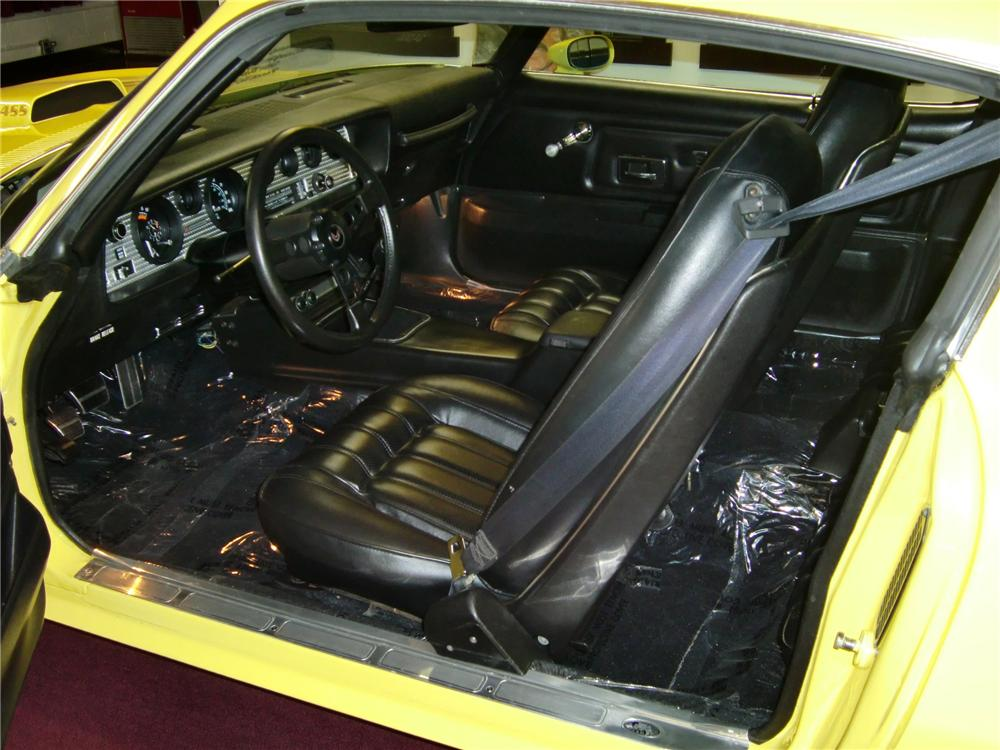 1976 PONTIAC FIREBIRD TRANS AM HARDTOP COUPE - Interior - 79686