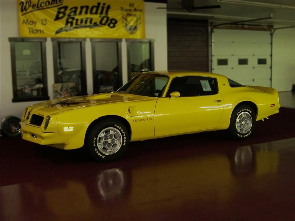 1976 PONTIAC FIREBIRD TRANS AM HARDTOP COUPE - Side Profile - 79686