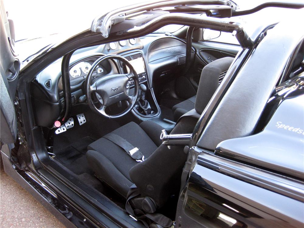 1996 FORD SALEEN MUSTANG CONVERTIBLE - Interior - 79696