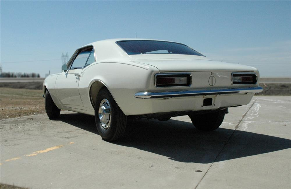 1967 CHEVROLET CAMARO COUPE - Rear 3/4 - 79698