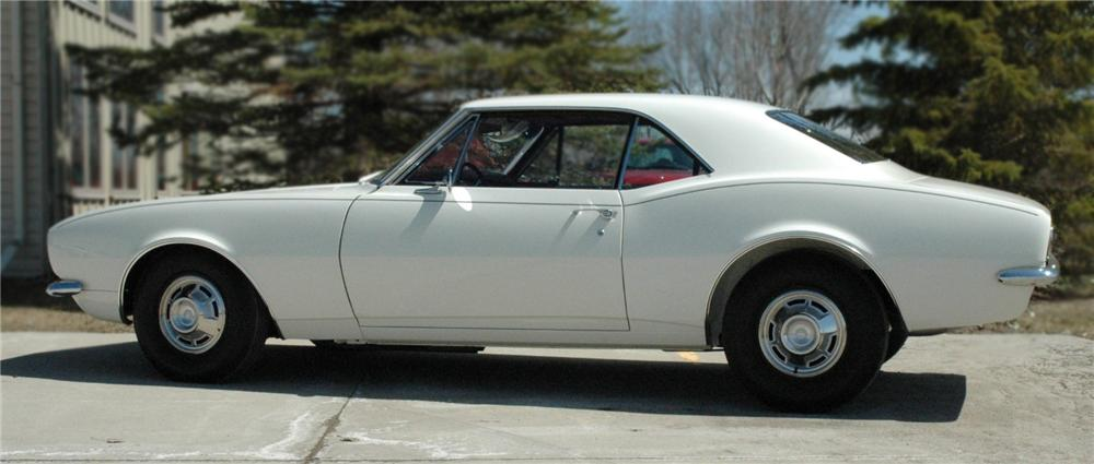 1967 CHEVROLET CAMARO COUPE - Side Profile - 79698