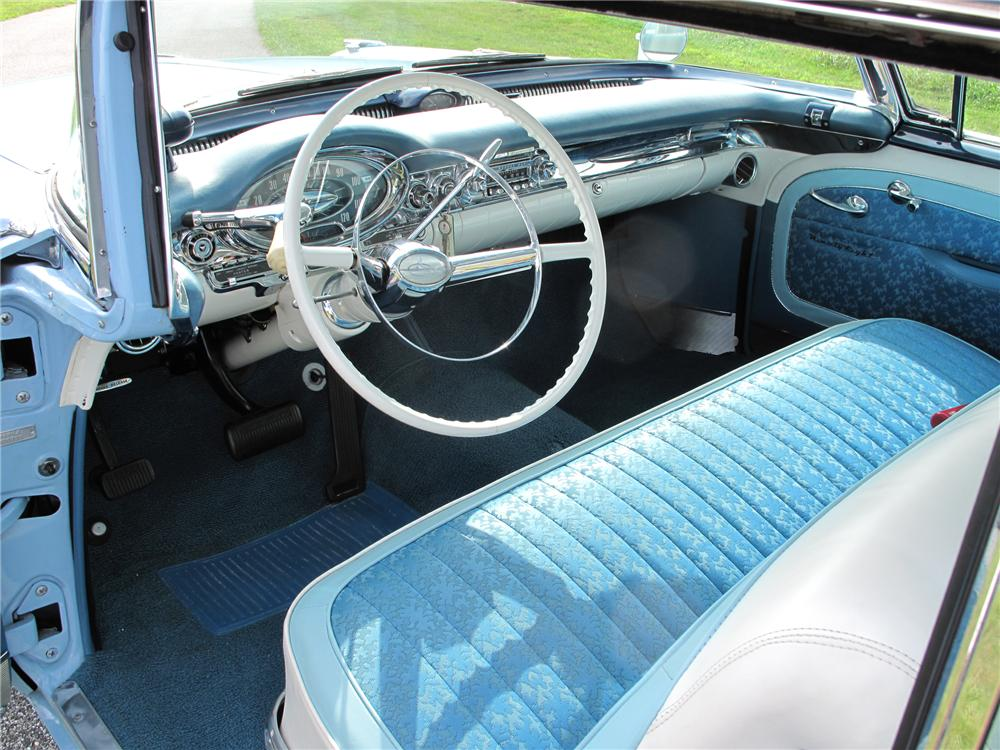 1957 OLDSMOBILE 98 2 DOOR HARDTOP - Interior - 79704
