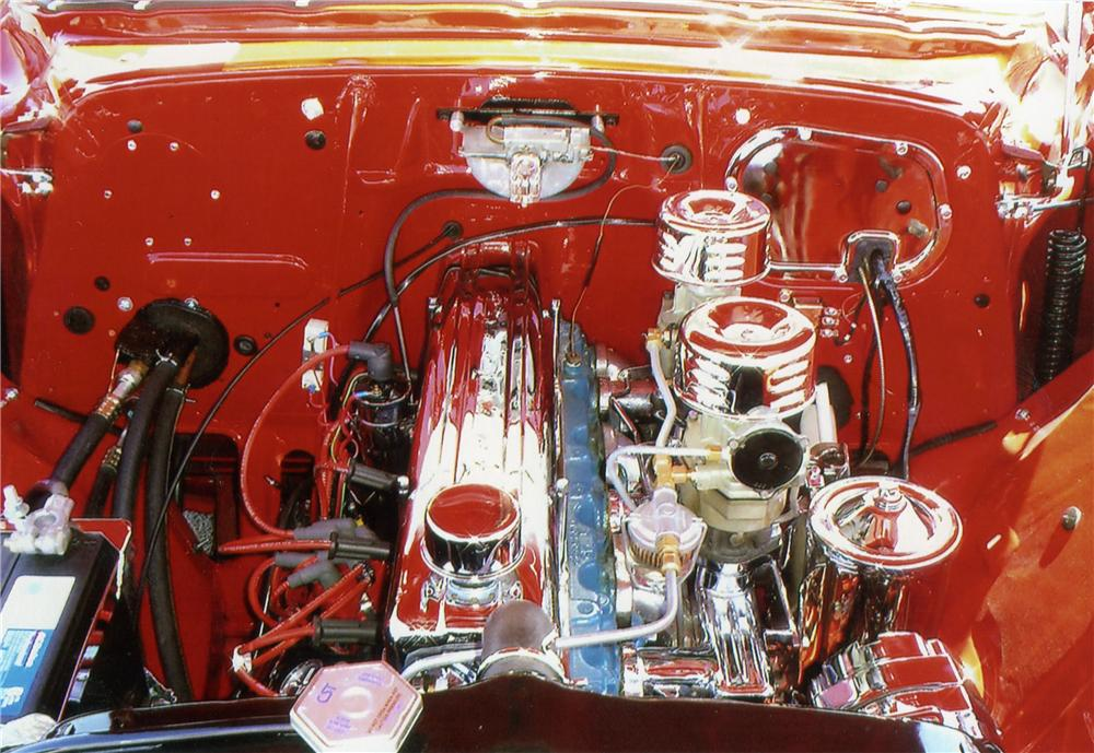 1954 CHEVROLET BEL AIR COUPE - Engine - 79706