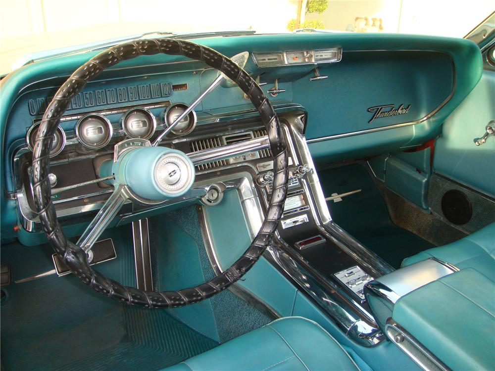 1966 FORD THUNDERBIRD 2 DOOR HARDTOP - Interior - 79755
