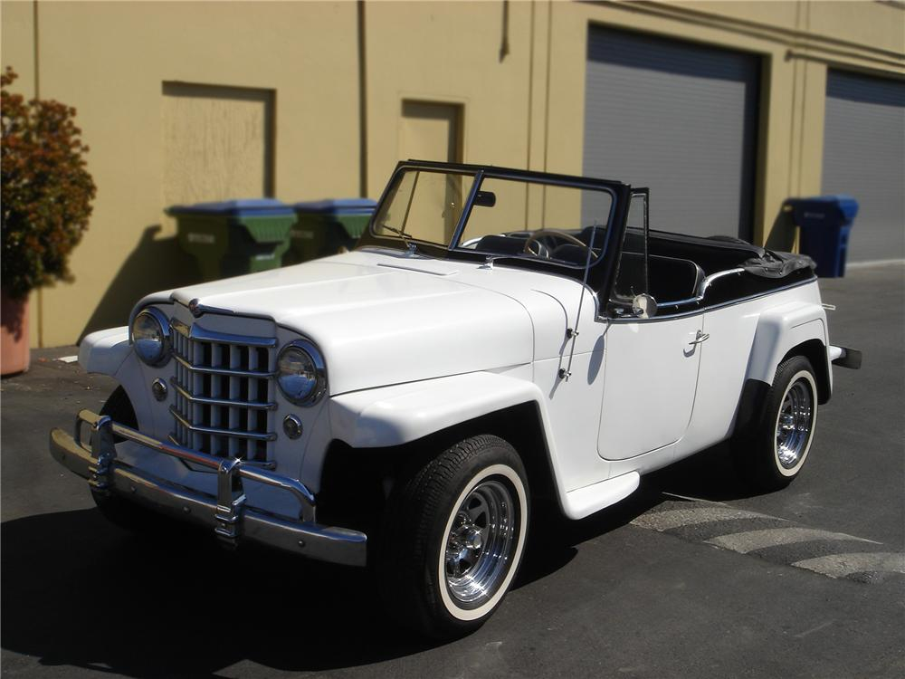 1950 WILLYS JEEPSTER PHAETON - Front 3/4 - 79758
