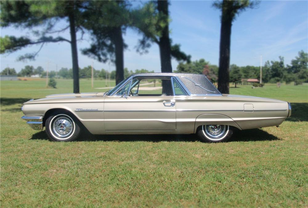 1964 FORD THUNDERBIRD 2 DOOR LANDAU - Front 3/4 - 79760