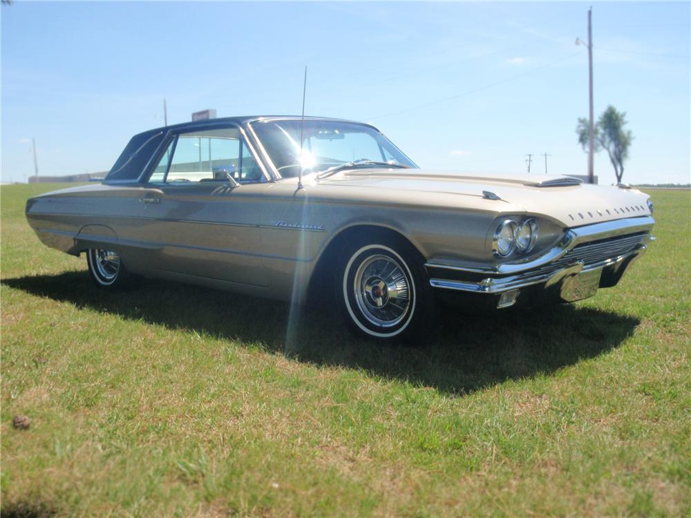 1964 FORD THUNDERBIRD 2 DOOR LANDAU - Side Profile - 79760