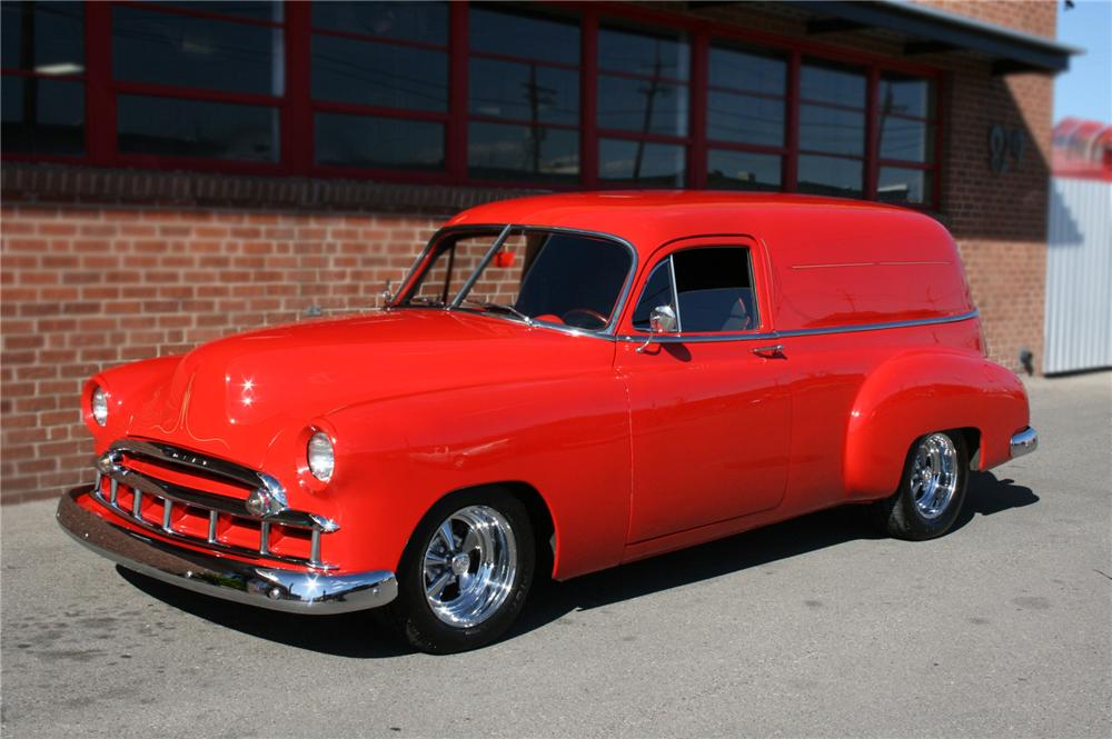 1950 CHEVROLET SEDAN DELIVERY CUSTOM - Front 3/4 - 79761