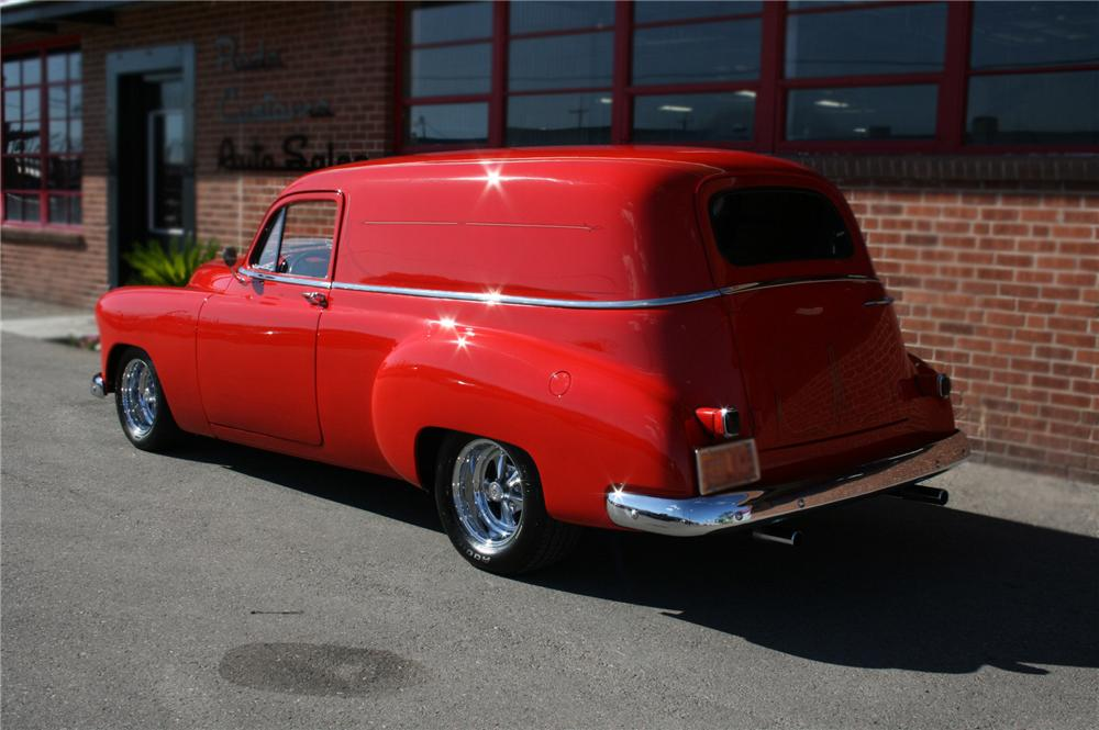 1950 CHEVROLET SEDAN DELIVERY CUSTOM - Rear 3/4 - 79761
