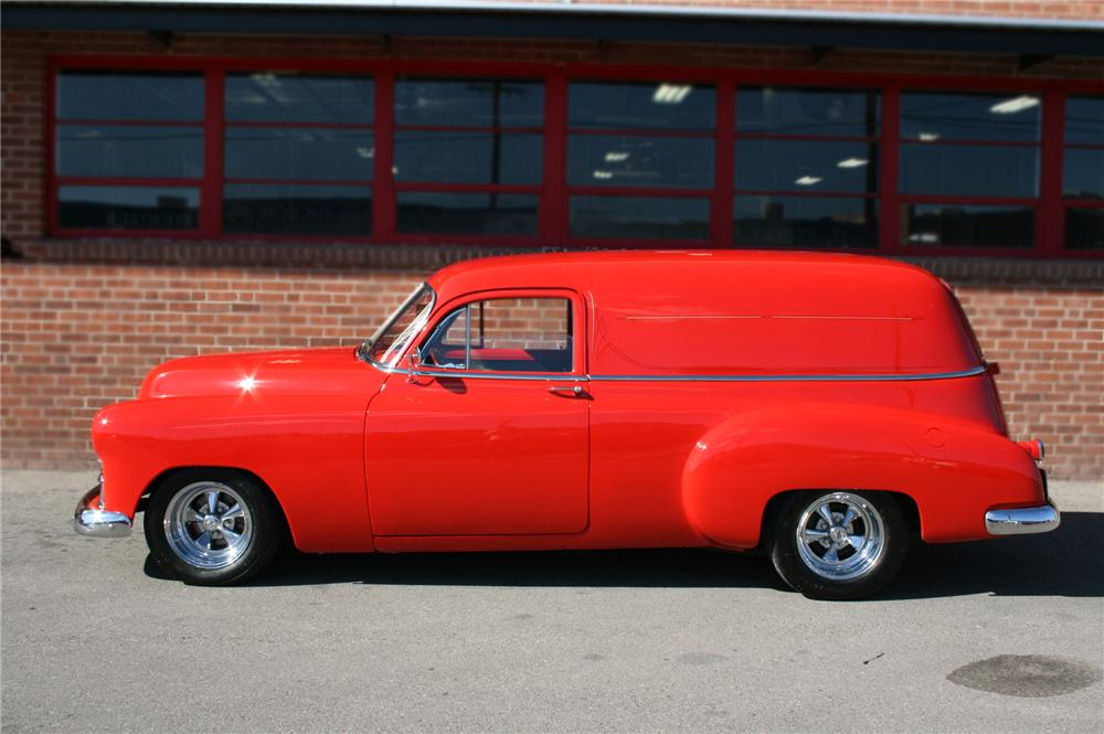 1950 CHEVROLET SEDAN DELIVERY CUSTOM - Side Profile - 79761