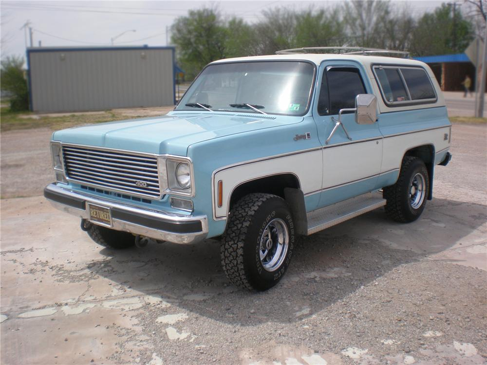 1976 GMC JIMMY SUV - Front 3/4 - 79768
