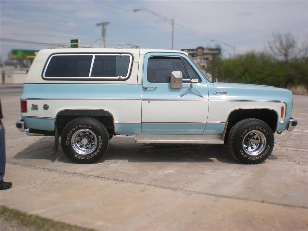 1976 GMC JIMMY SUV - Side Profile - 79768