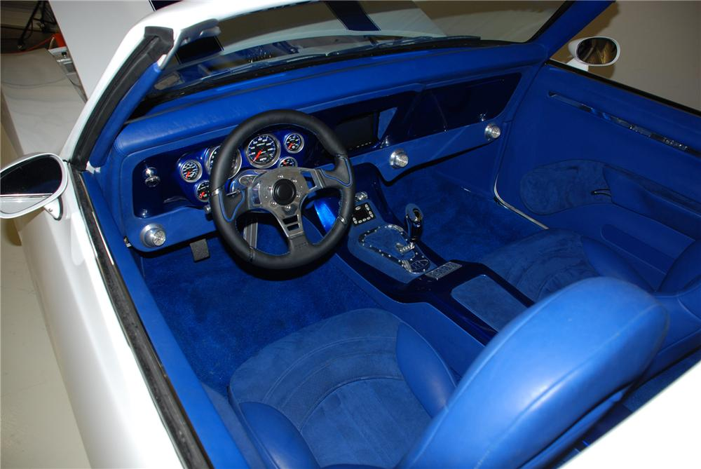 1969 PONTIAC FIREBIRD PRO-TOURING CONVERTIBLE - Interior - 79770