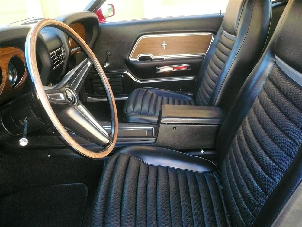 1970 FORD MUSTANG MACH 1 FASTBACK - Interior - 79772
