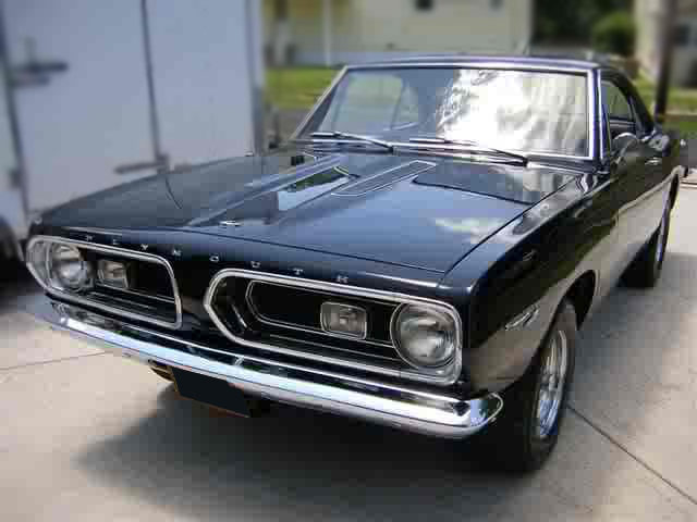 1967 PLYMOUTH BARRACUDA 2 DOOR COUPE - Front 3/4 - 79775