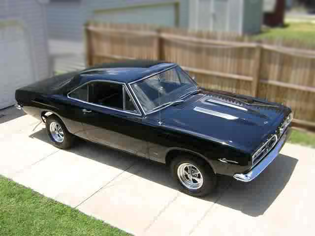 1967 PLYMOUTH BARRACUDA 2 DOOR COUPE - Side Profile - 79775