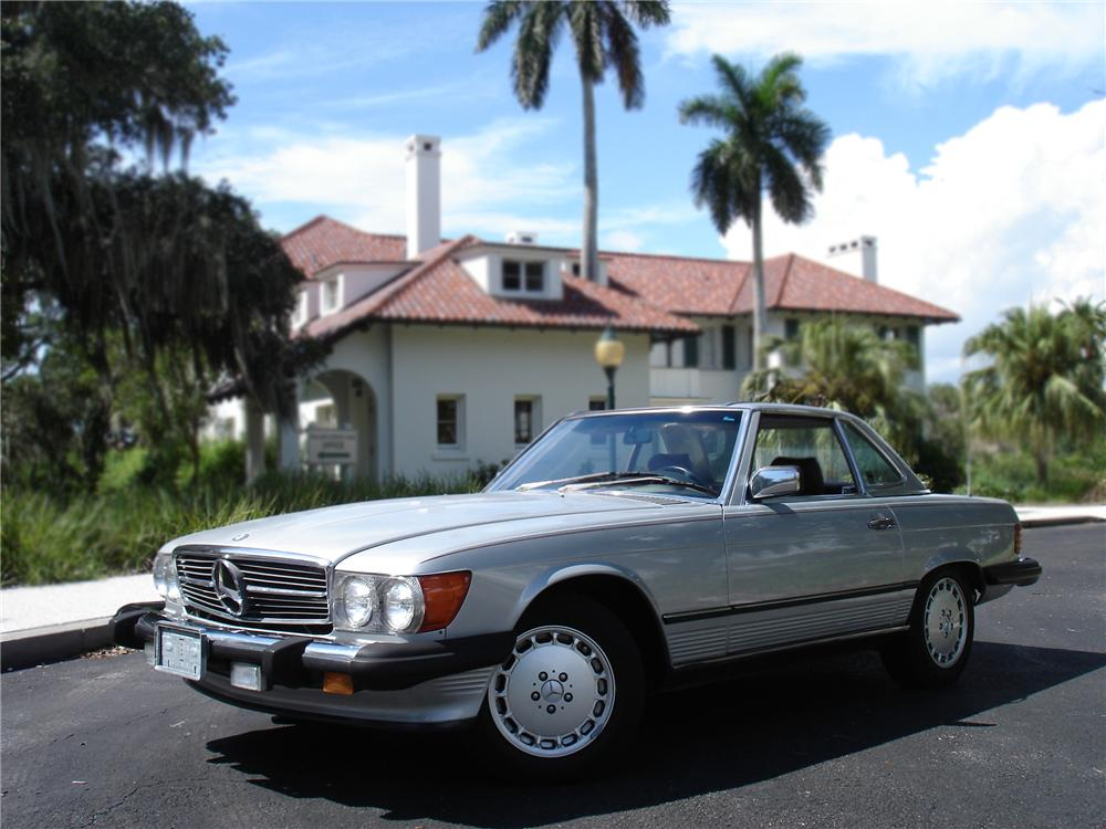 1987 MERCEDES-BENZ 560SL CONVERTIBLE - Side Profile - 79777