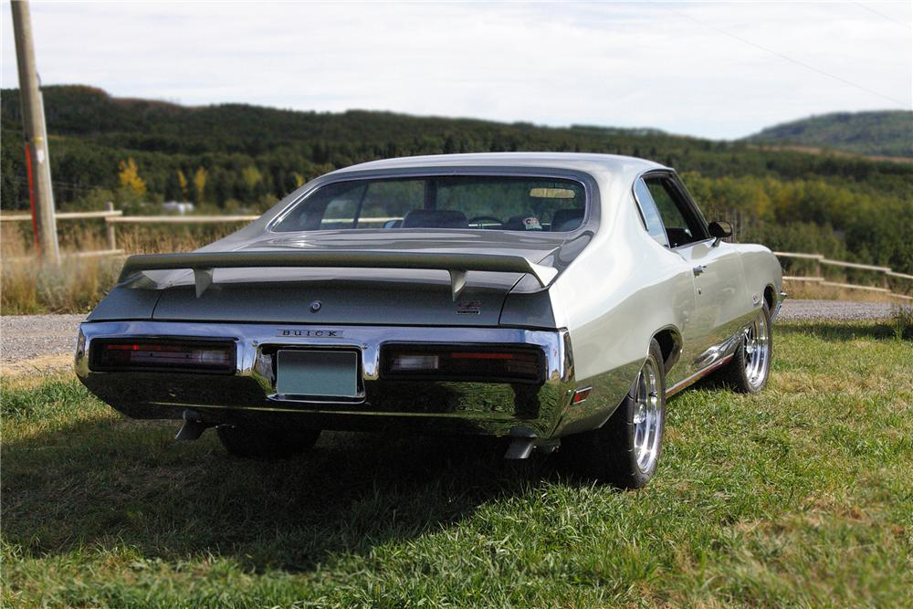 1972 BUICK GRAN SPORT 2 DOOR COUPE - Rear 3/4 - 79791
