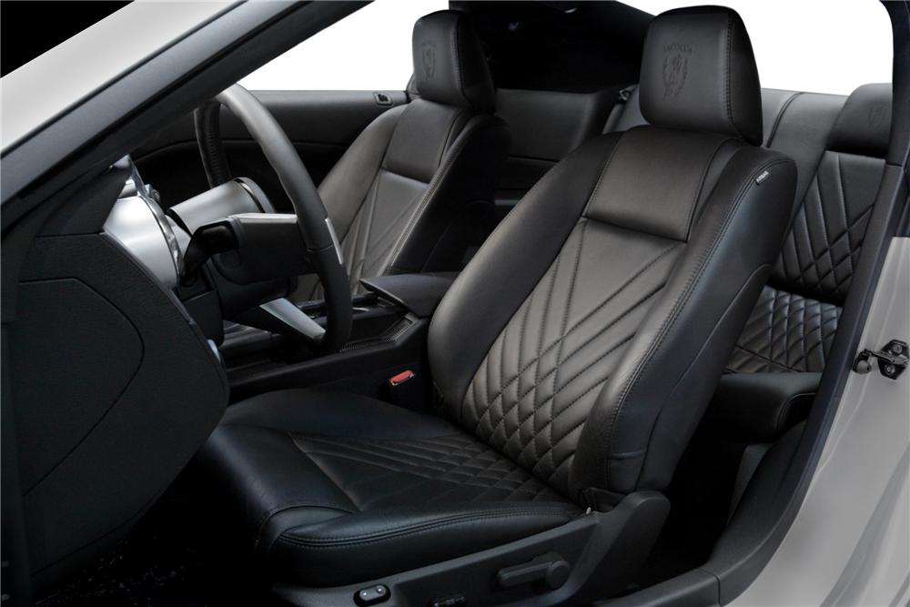 """2009 FORD MUSTANG COUPE """"IACOCCA 45TH ANNIVERSARY"""" - Interior - 79792"""