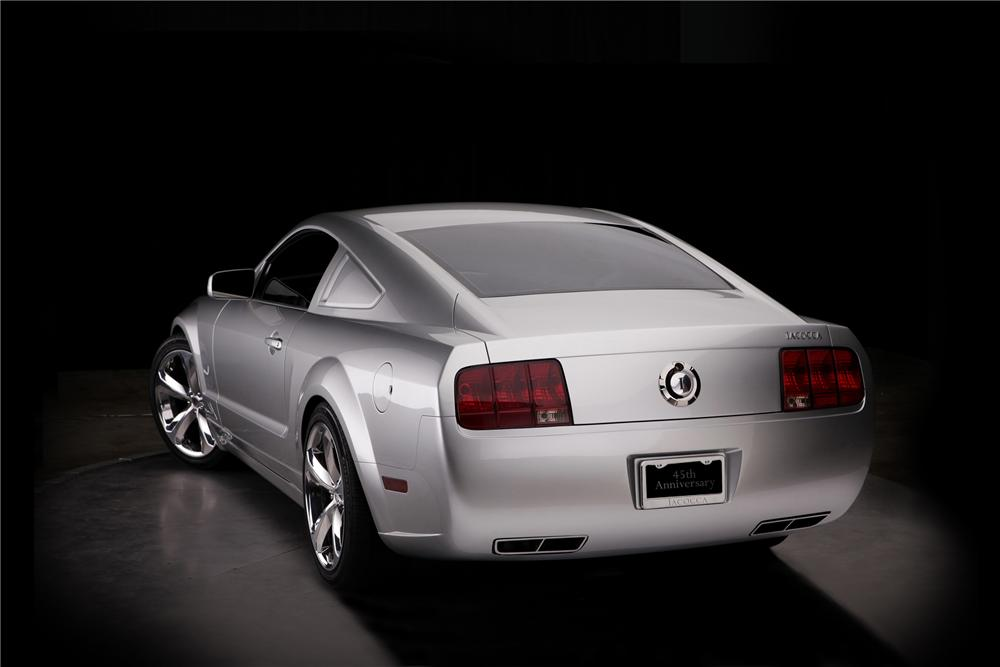 "2009 FORD MUSTANG COUPE ""IACOCCA 45TH ANNIVERSARY"" - Rear 3/4 - 79792"