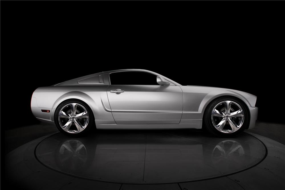 """2009 FORD MUSTANG COUPE """"IACOCCA 45TH ANNIVERSARY"""" - Side Profile - 79792"""