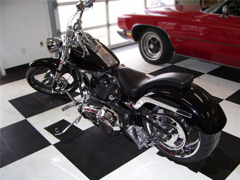2009 SPECIAL CONSTRUCTION CUSTOM MOTORCYCLE - Rear 3/4 - 79802