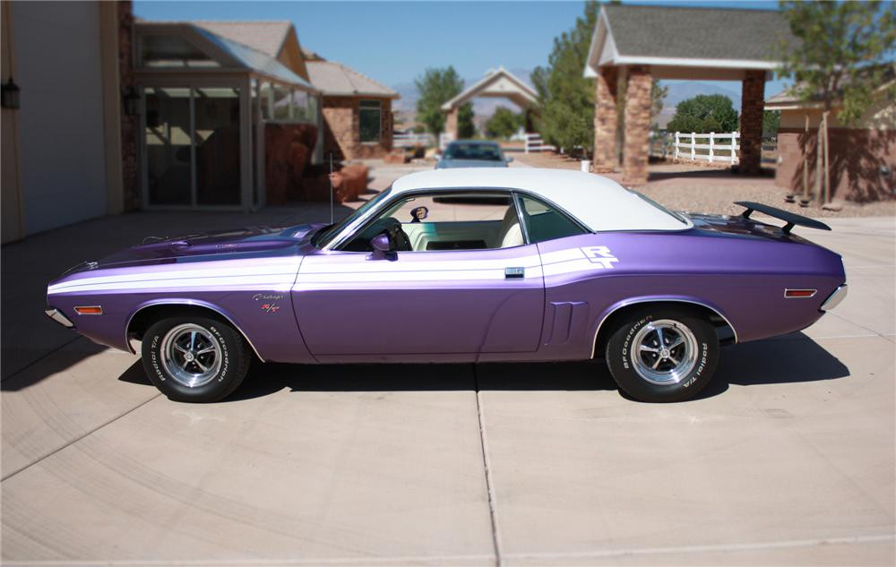 1971 DODGE CHALLENGER R/T 2 DOOR HARDTOP - Side Profile - 79803